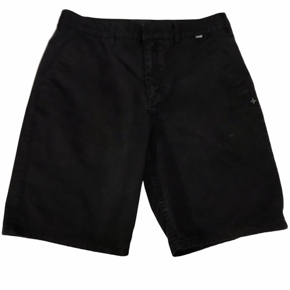Hurley Shorts Black 5 Pocket W33 L10